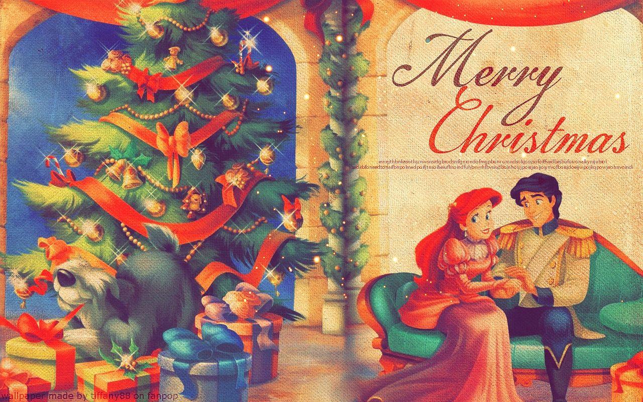 Disney Princess Chritmas Disney Princess Christmas Wallpaper 31985244 Fanpop Fanclubs
