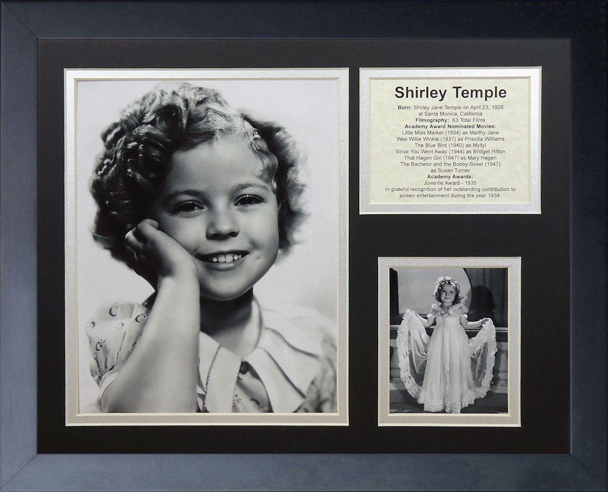 Shirley Temple Framed Memorabilia