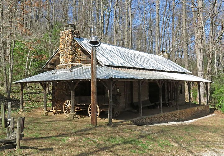 Old Southern Dog Trot Houses Moore House Dog Trot Cabin Style