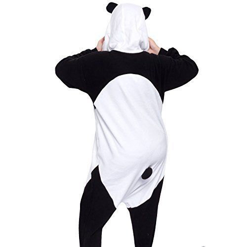 Unisex 86207: Sazac Panda Kigurumi Animal Pajamas Cosplay Costume Halloween From Usa -> BUY IT NOW ONLY: $49.99 on eBay!