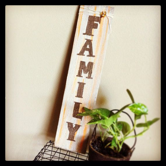 Fall inspired FAMILY sign  on Etsy, $15.99