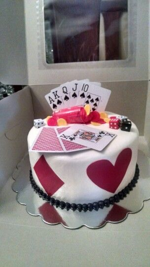 Gambling cake
