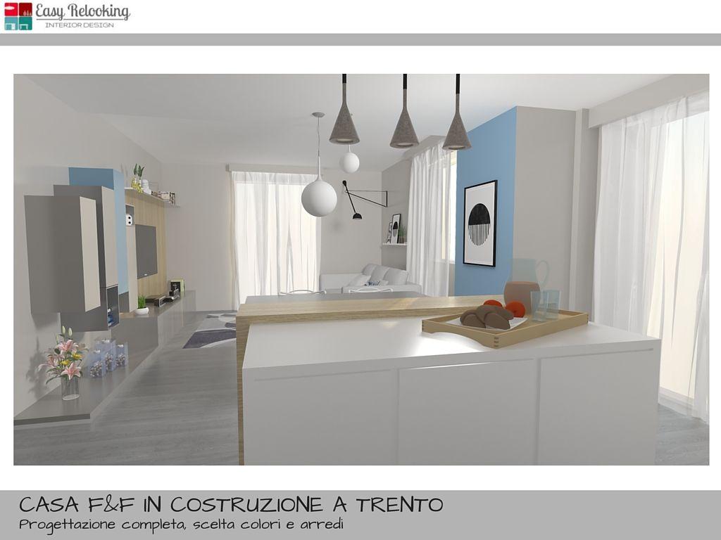 Arredamento open space cucina e soggiorno Livingroom