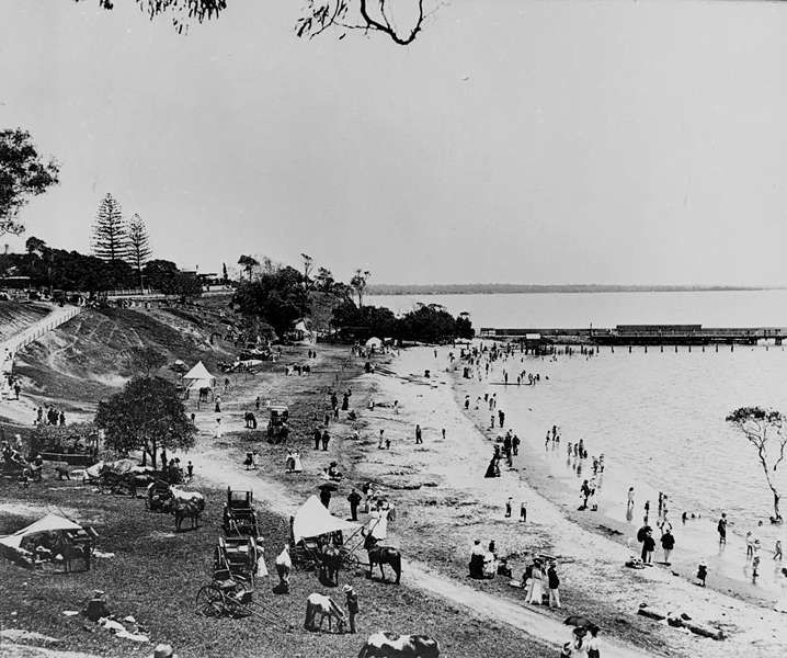 Haunted Places In Ipswich Qld: 1905 Shorncliffe Beach