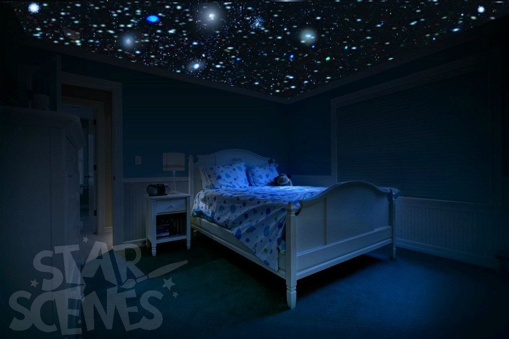 Constellation And Glow In The Dark Ceiling Stars Kit 16 Etsy Bedroom Ceiling Star Ceiling Dark Ceiling