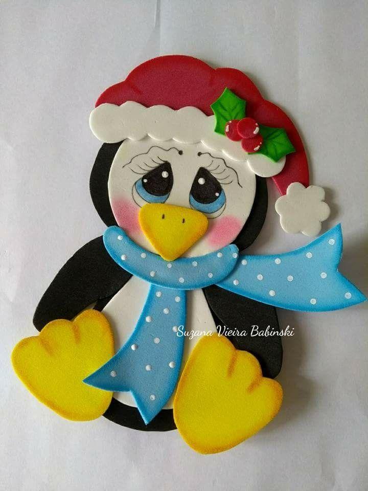 Pin de anita sajor en navide o pinterest navidad - Decoracion navidad goma eva ...
