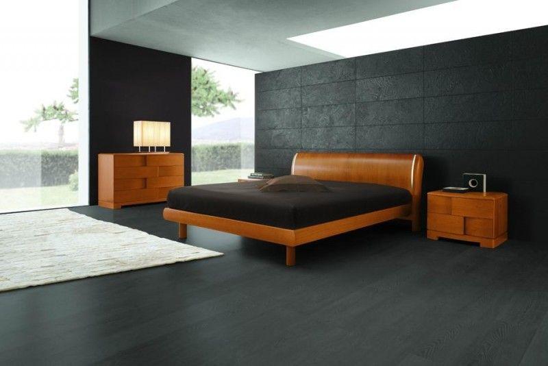 Modern King Size Bedroom Sets Italian Cherry Wooden Bed Nightstand Dresser Boxes Cool Bedroom Furniture Contemporary Bedroom Furniture Modern Bedroom Furniture