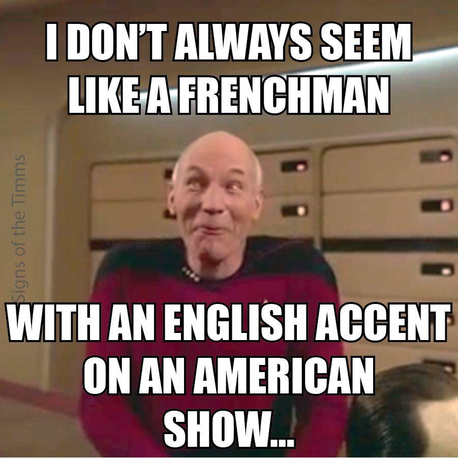 "Whimsical Picard Meme ""I don't always seem like a ..."
