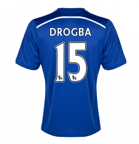 #Maglia chelsea 2014-15 home (drogba 11)  ad Euro 104.07 in #Sport calcio maglia #Moda