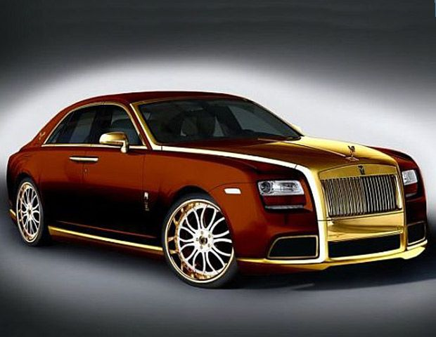 The Rolls-Royce Ghost Fenice Milano series comes in at a sweet $ 3 million, with two model styles - one in tan and one in purple.