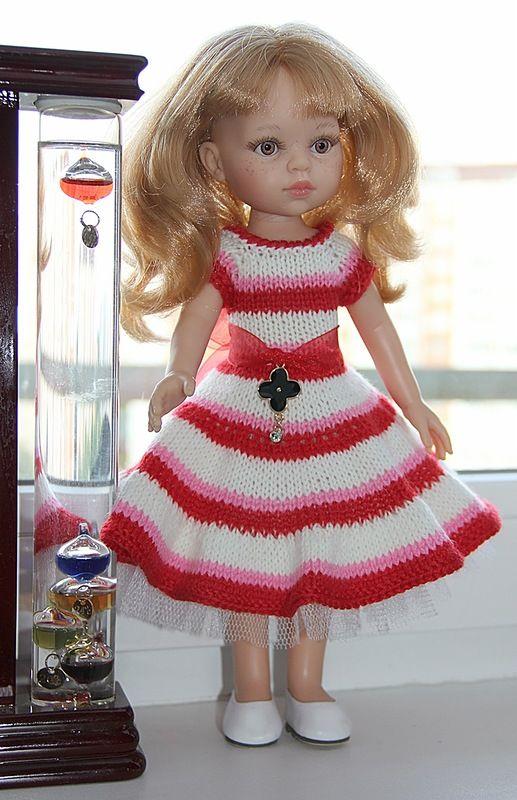 Вяжем для кукол одежду