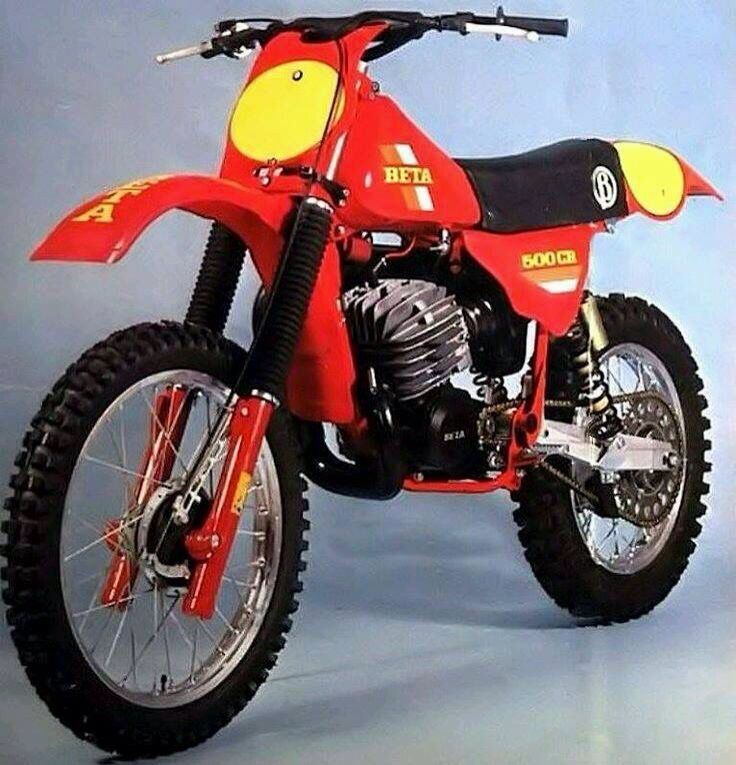 Beta Motocrosser Vintage Dirt Bikes Vintage Motocross Classic Motorcycles Motocross Bikes
