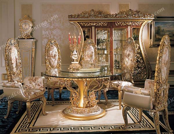 Italian Furniture Phoebe Round Table Italian Dining Room