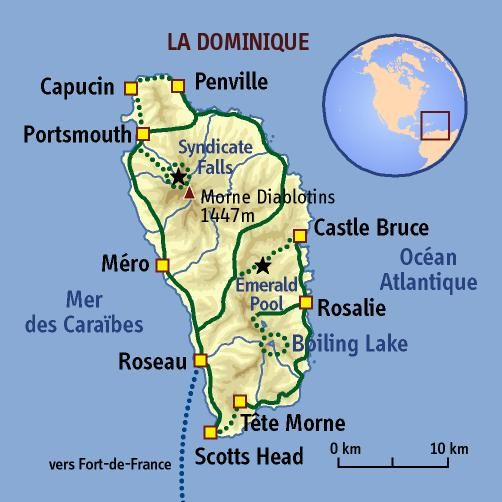 Dominique Map on