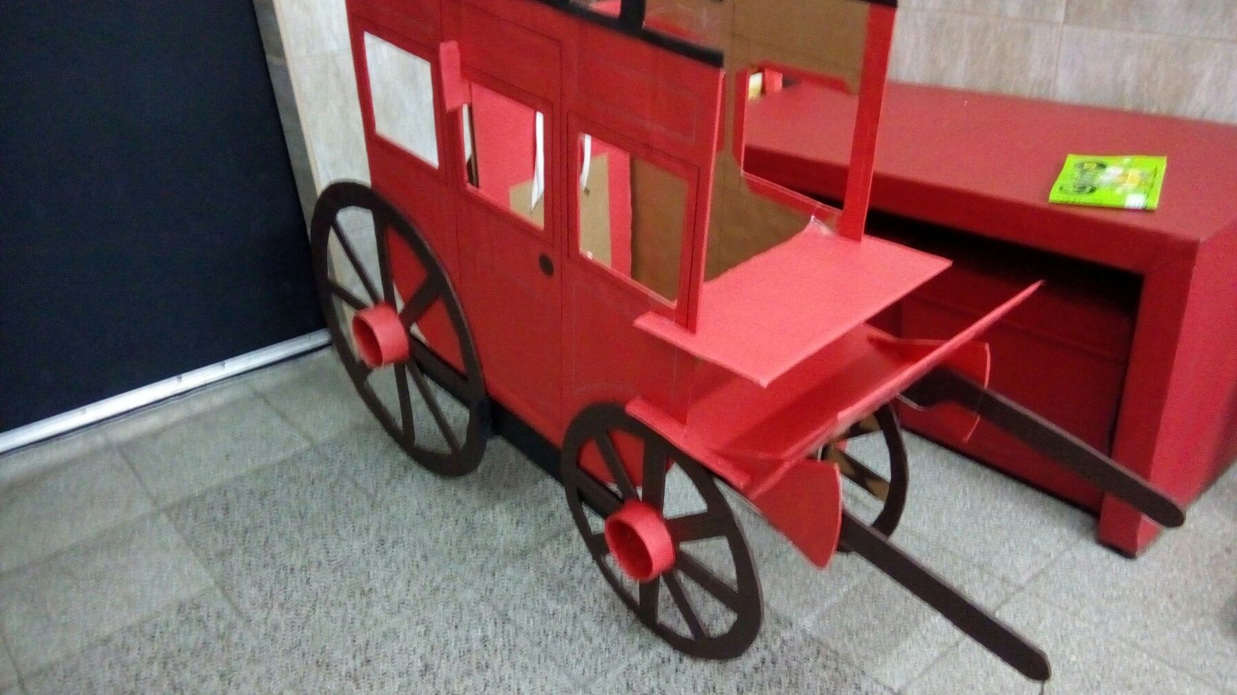 Diligencia De Carton Modelo Para Ninos De 6 Anos Carton Ninos Carretilla