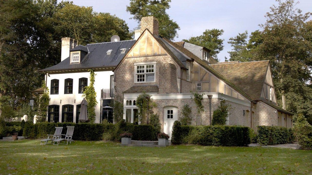 Klassiek belgisch landhuis belgian style pinterest belgian style architecture and house - Chique landhuis ...