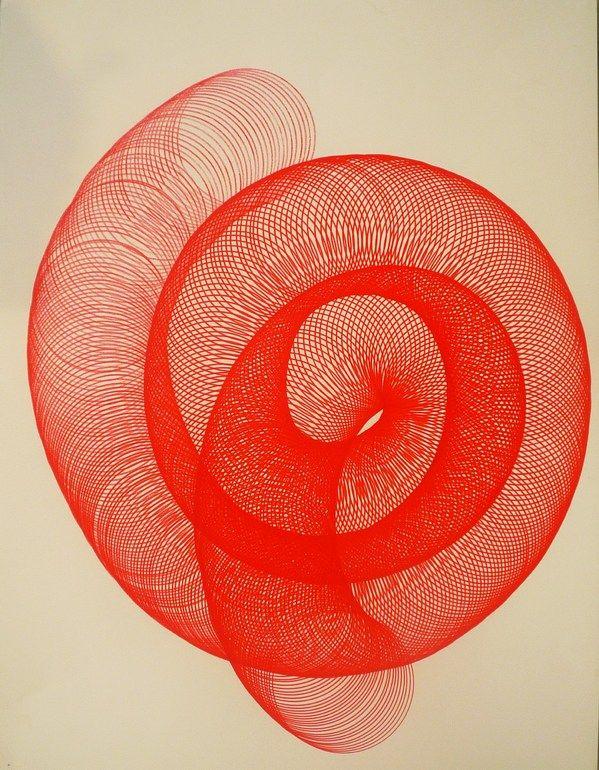 "ELENI PRATSI; Ballpoint Pen 2010 Drawing ""untitle"""