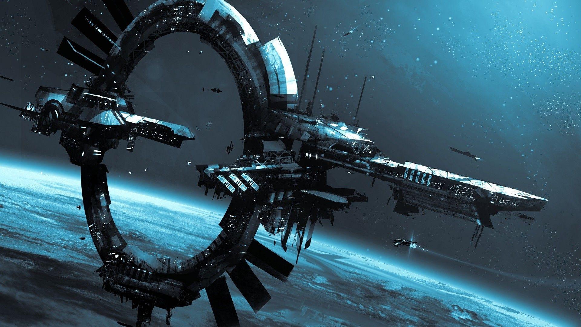 space spaceship star citizen idris space station