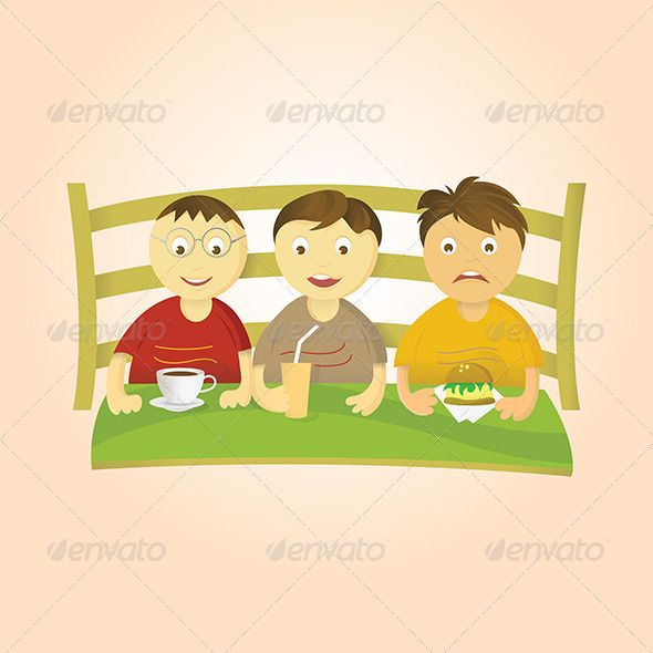 Kids Design, Three Boys, Book Design