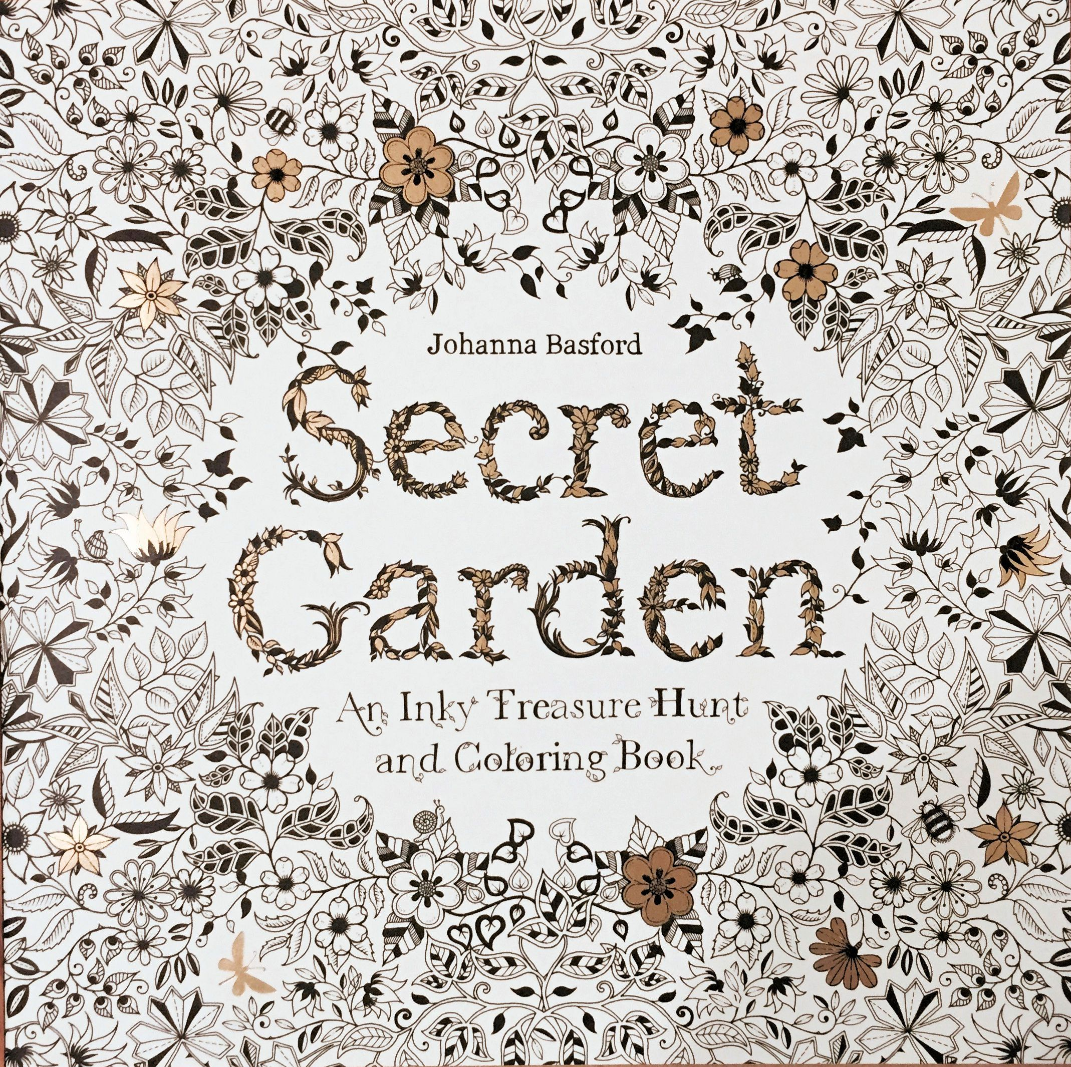 Secret Garden By Johanna Basford Adult Coloring Book