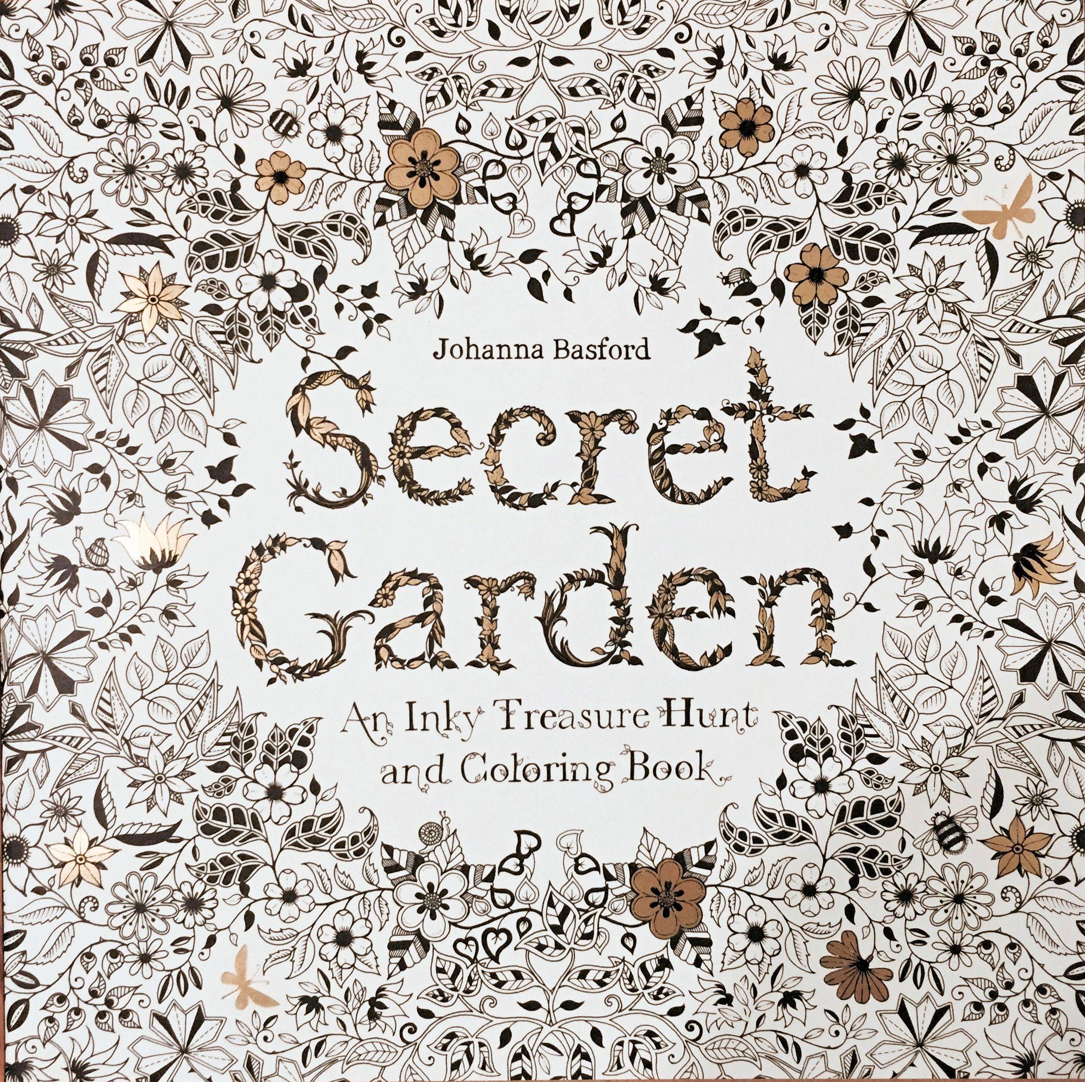 Secret Garden By Johanna Basford Adult Coloring Book