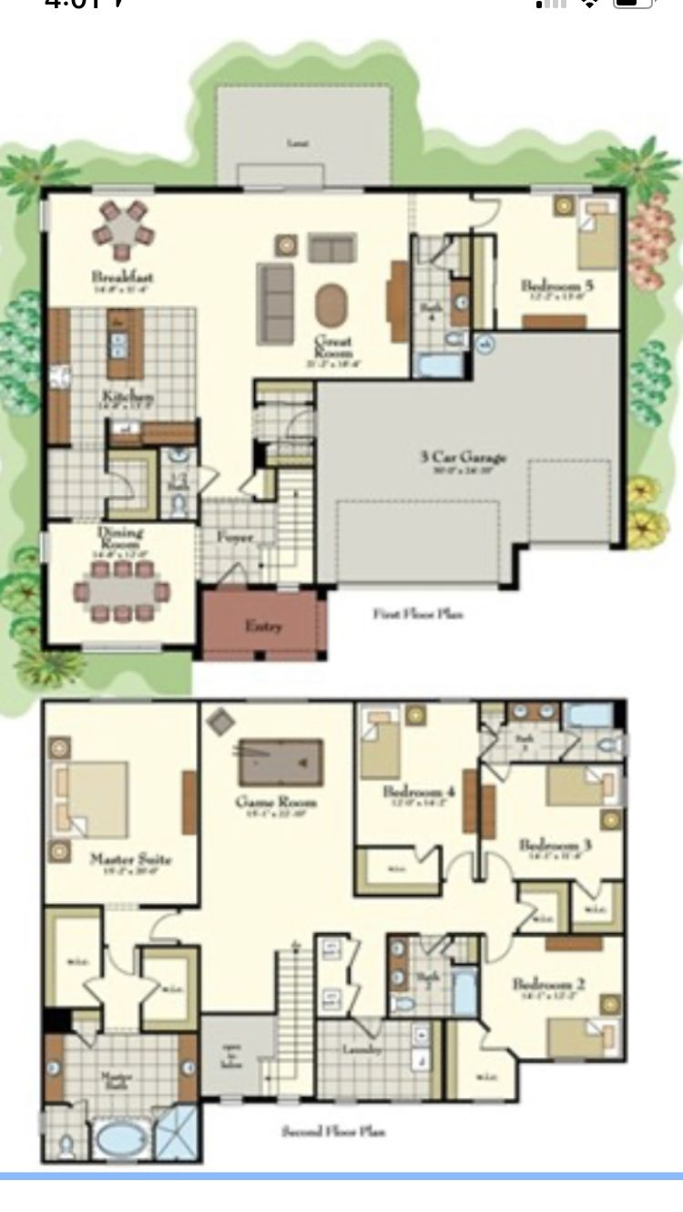 Pin By Rose Espada On House Plans House Plans House Floor Plans