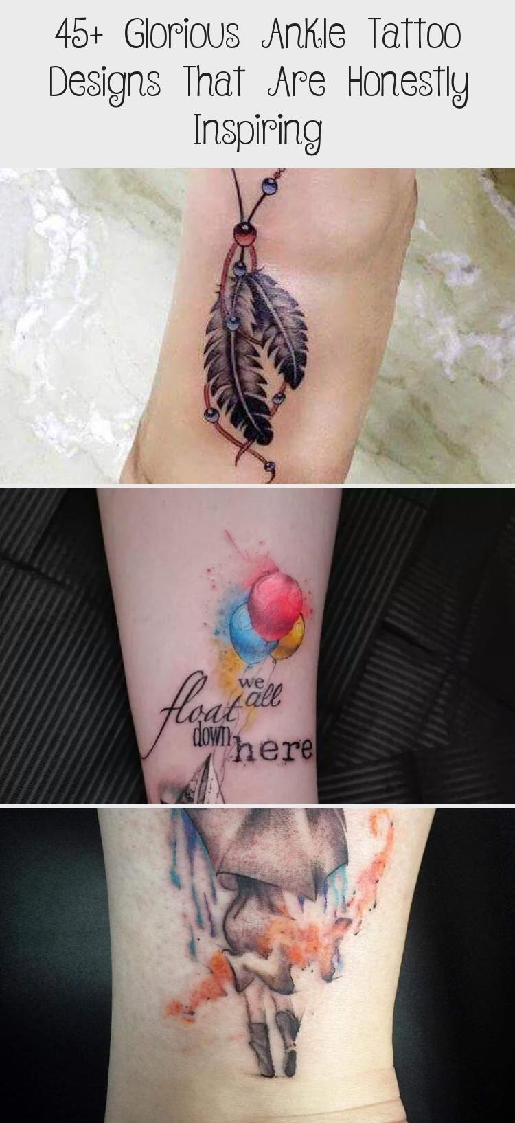 Half garland look ankle tattoo designs travelingtattosleg