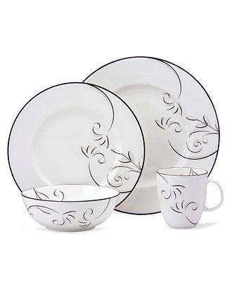 "Lenox Simply Fine™ ""Voila"" Dinnerware Collection - Fine China - Macy's"