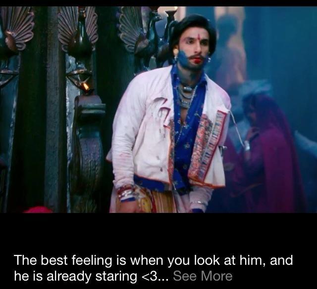 Ranveer Singh as Ram, Ram-Leela | Ranveer singh, Smile ...