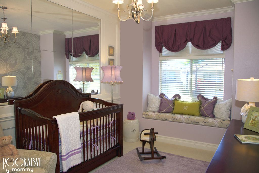 Project Nursery Purple And Green
