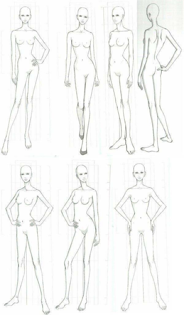 学习画画…_来自色涩的图片分享-堆糖   Fashion figure drawing ...