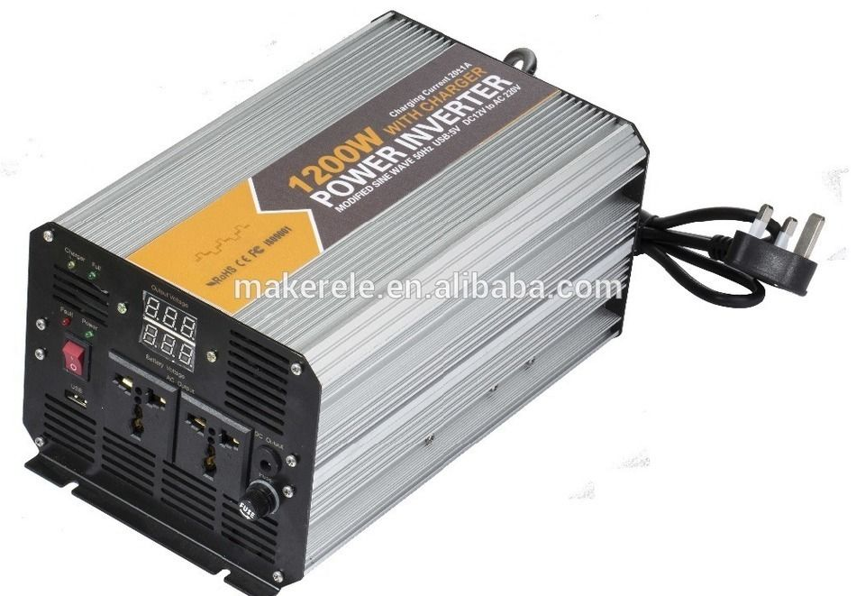 Mkm1200 481g C 1200w Modified Sine Safe Power Inverter Dc Ac 48v 120v Power Inverters For Camping High Power Inver Power Inverters Electrical Equipment Charger
