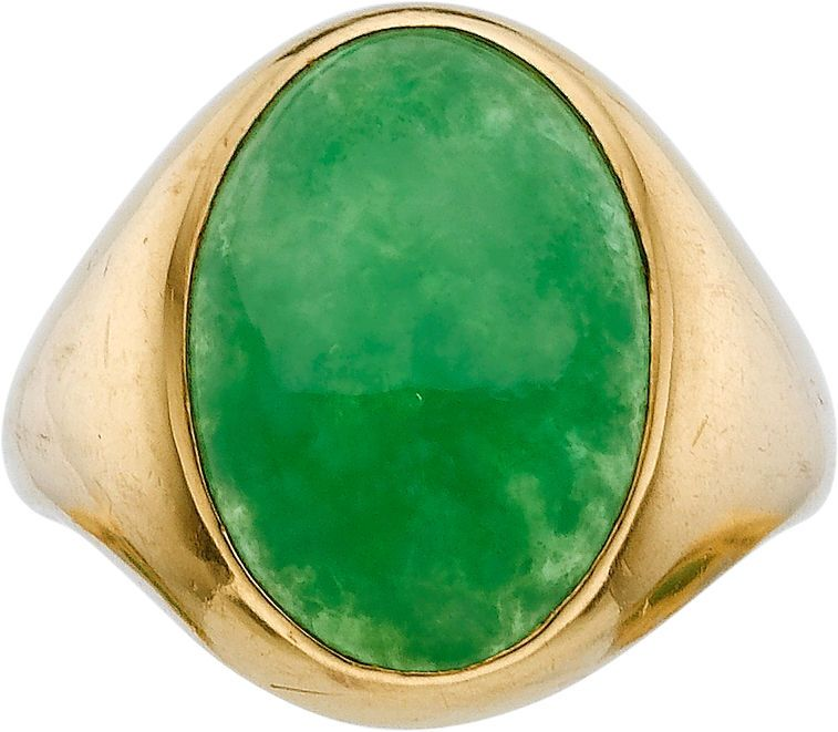 RP: Jadeite Jade, Gold Ring