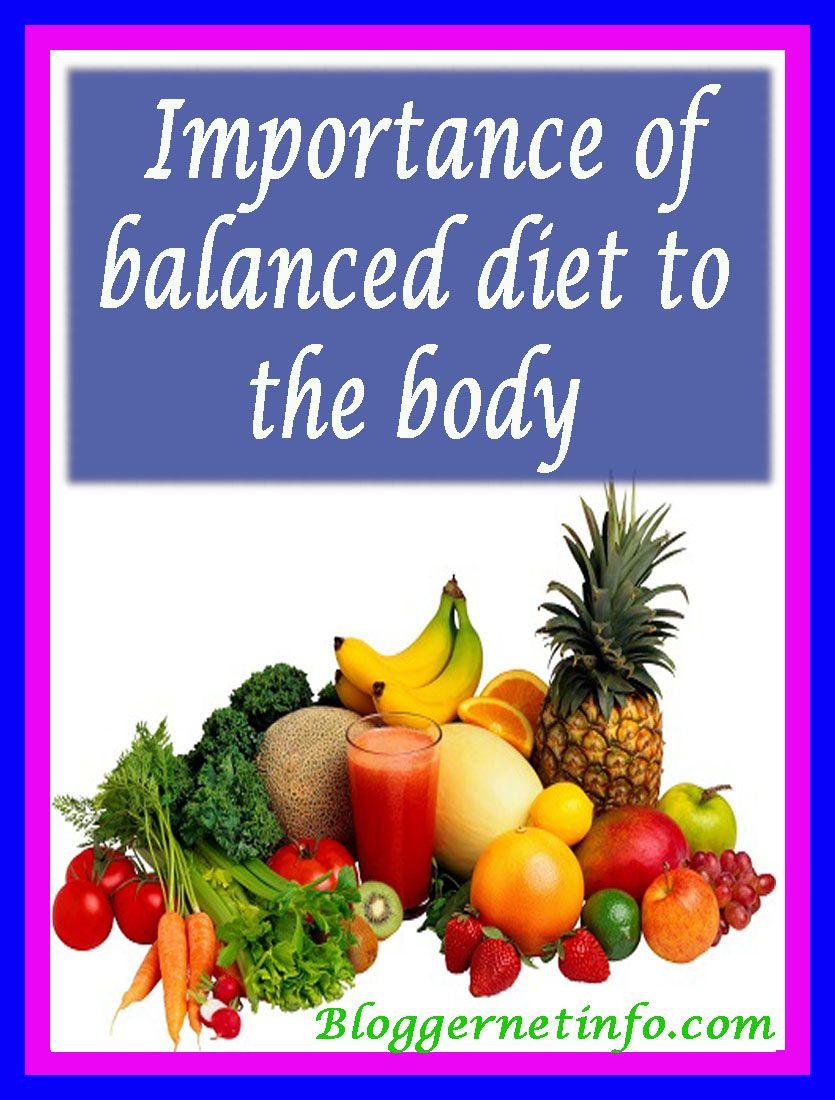 Balanced Diet Diet Blog