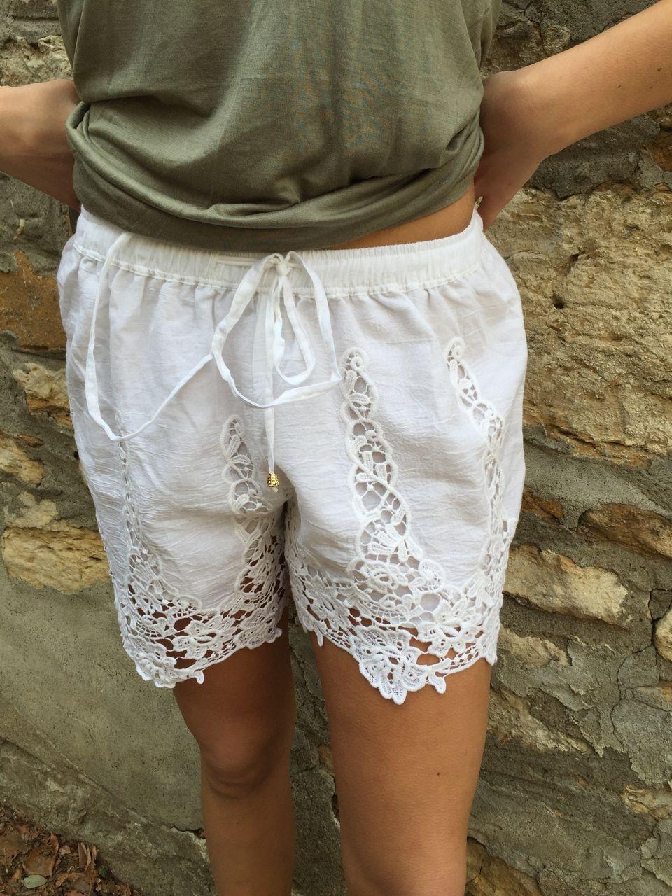 fortuityinc - Crochet Shorts::WHITE, $35.00 (http://www.fortuityusa.com/crochet-shorts-white/)