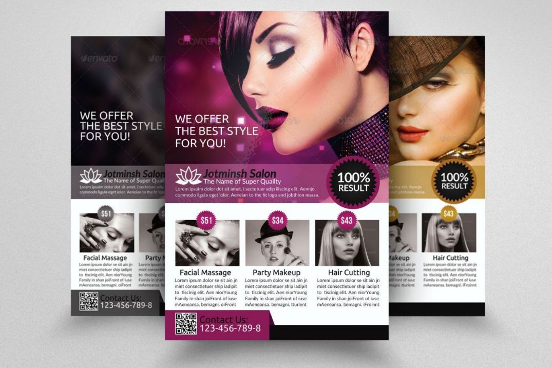 salon-advertisement-flyer-template 15+ Beauty Salon Flyer Template - advertisement flyer template