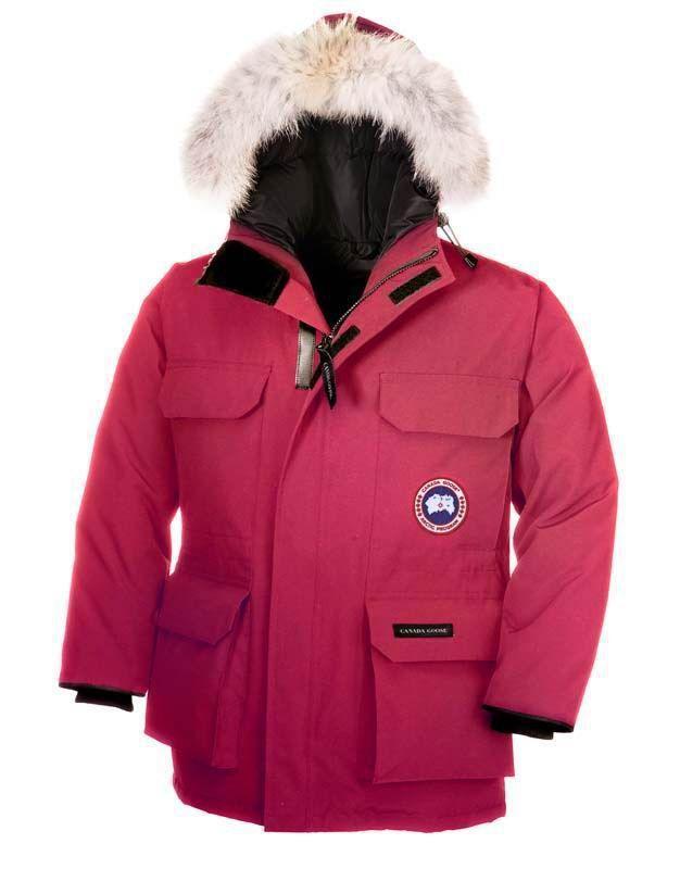 Canada Goose Banff Anorak rosa