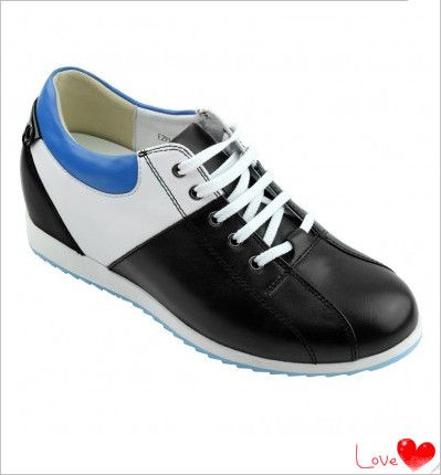 Increased Height: 7cm(2.76 inch)(Totally invisible)  Upper Material: Cow Leather  Lining Material: Pigskin Leather  Outsole Material: Rubber  Insole Material: PU  Occasion: Daily Casual  Shown Color: Black/White  Style: Casual  Season: Spring,Summer,Autumn,Winter  Brand: Hesion  Function: Height Increasing  Gender: Woman