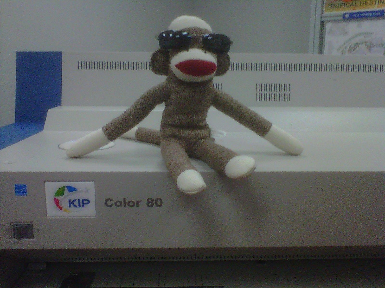 KIP KC80 prints color so bright you'll need shades!