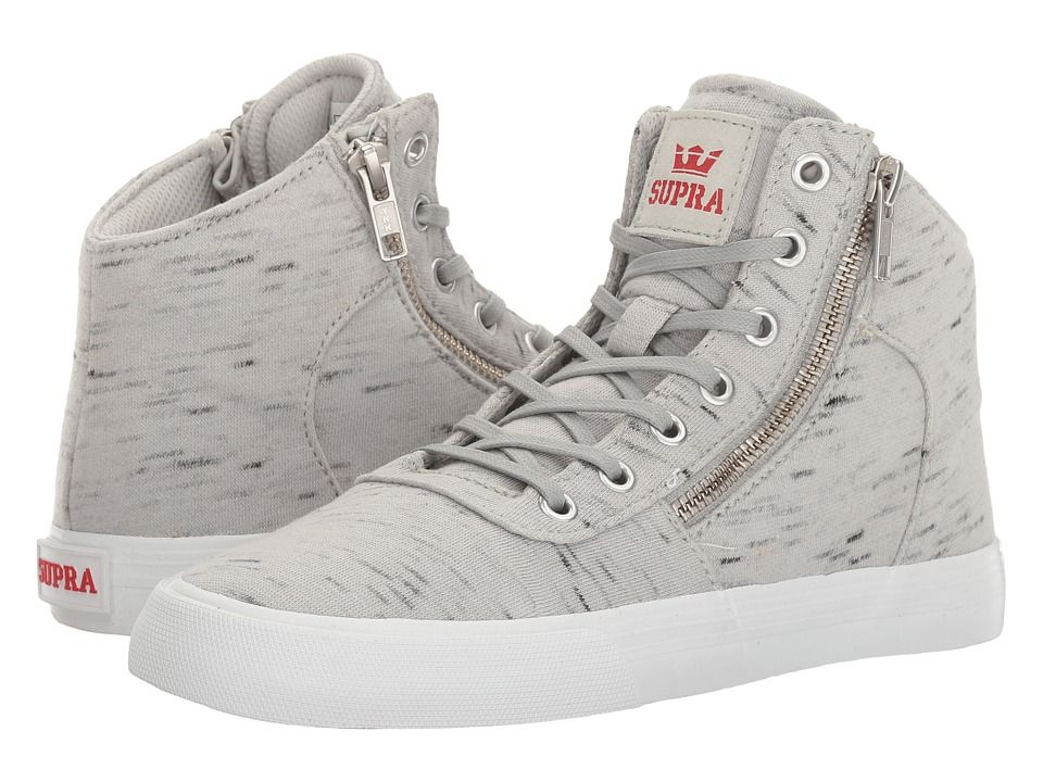 2ba461eec086 SUPRA SUPRA - CUTTLER (GREY WHITE) WOMEN S SKATE SHOES.  supra  shoes