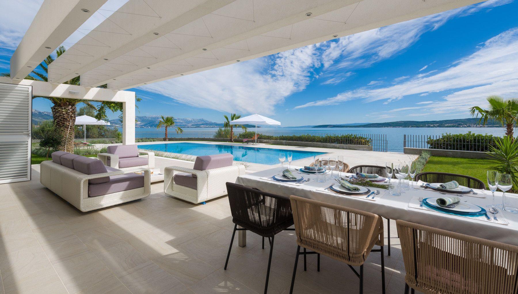 Exclusive Luxury Beach Villa near Trogir and Split