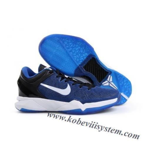 promo code 144a2 191b3 Nike Zoom Kobe VII (7) Duke Blue Black White Men s Basketball Shoes