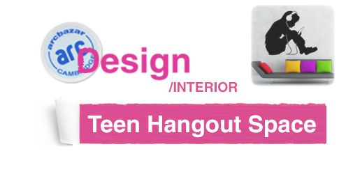 2-week design challenge: Formal Living Room Becomes Teen Hangout ...