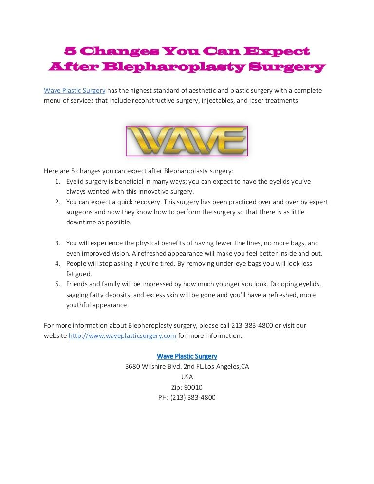 You can expect a quick recovery. This surgery has been practiced over and over by expert surgeons and now they know how to perform the surgery so that there is as little downtime as possible. Log on http://www.waveplasticsurgery.com/