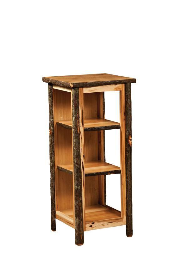 Amish Rustic Small Bookcase