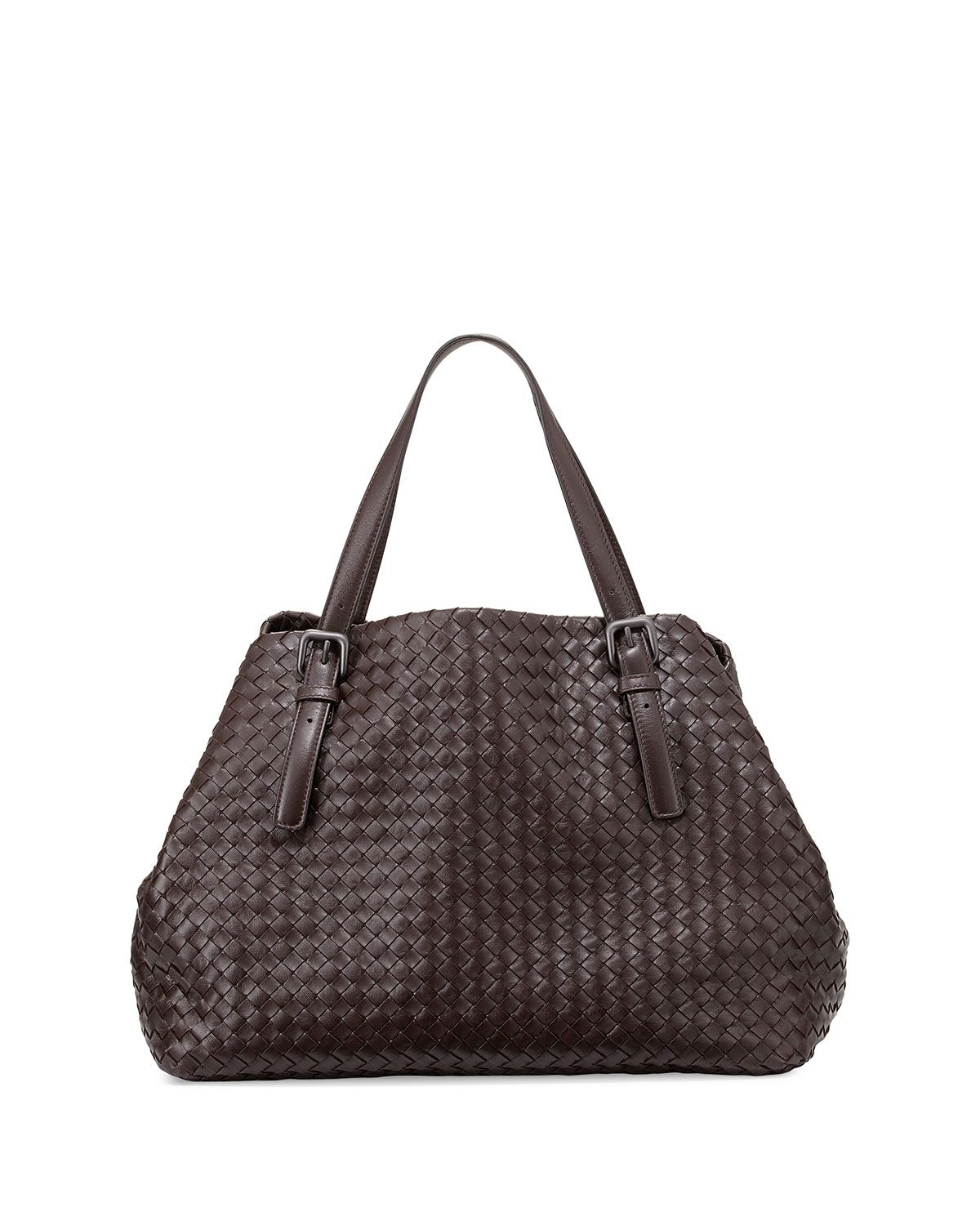 bcf30585e9 Large Woven A-Shape Tote Bag