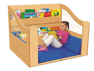 We think the Lakeshore Reading Nook would be perfect for at-home learning! #Lakeshore #Learning