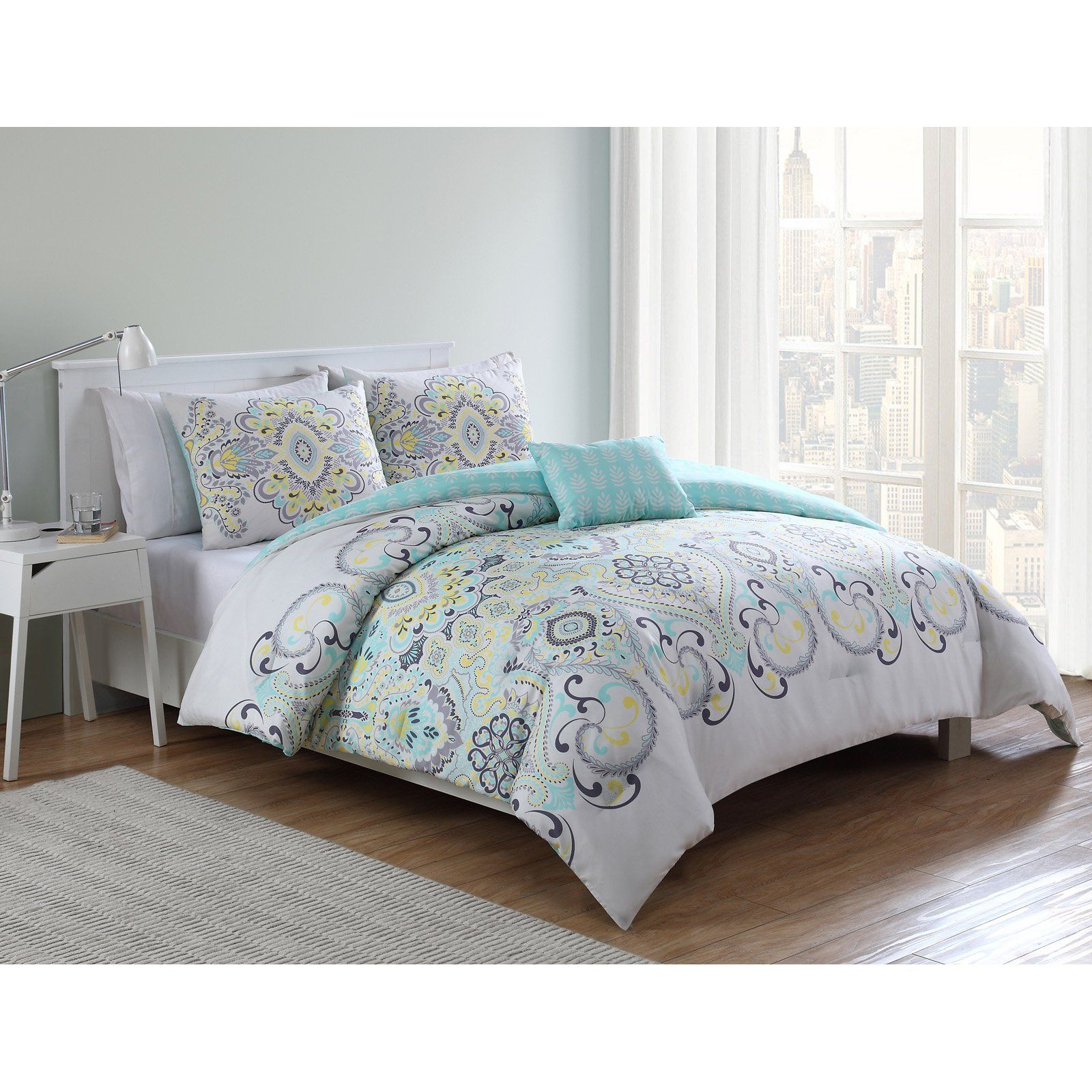 Amherst Printed Comforter Set By Vcny Home Bedding Sets
