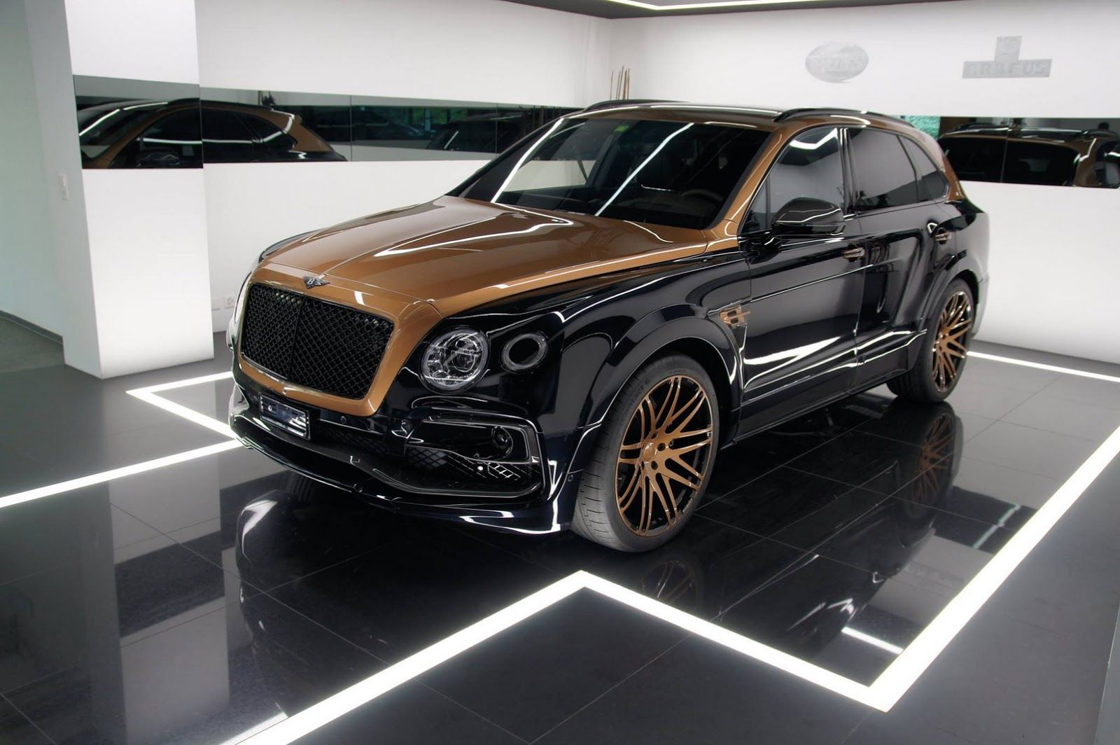 Tuned Bentley Bentayga In Exclusive Shadow Gold Not For The Faint