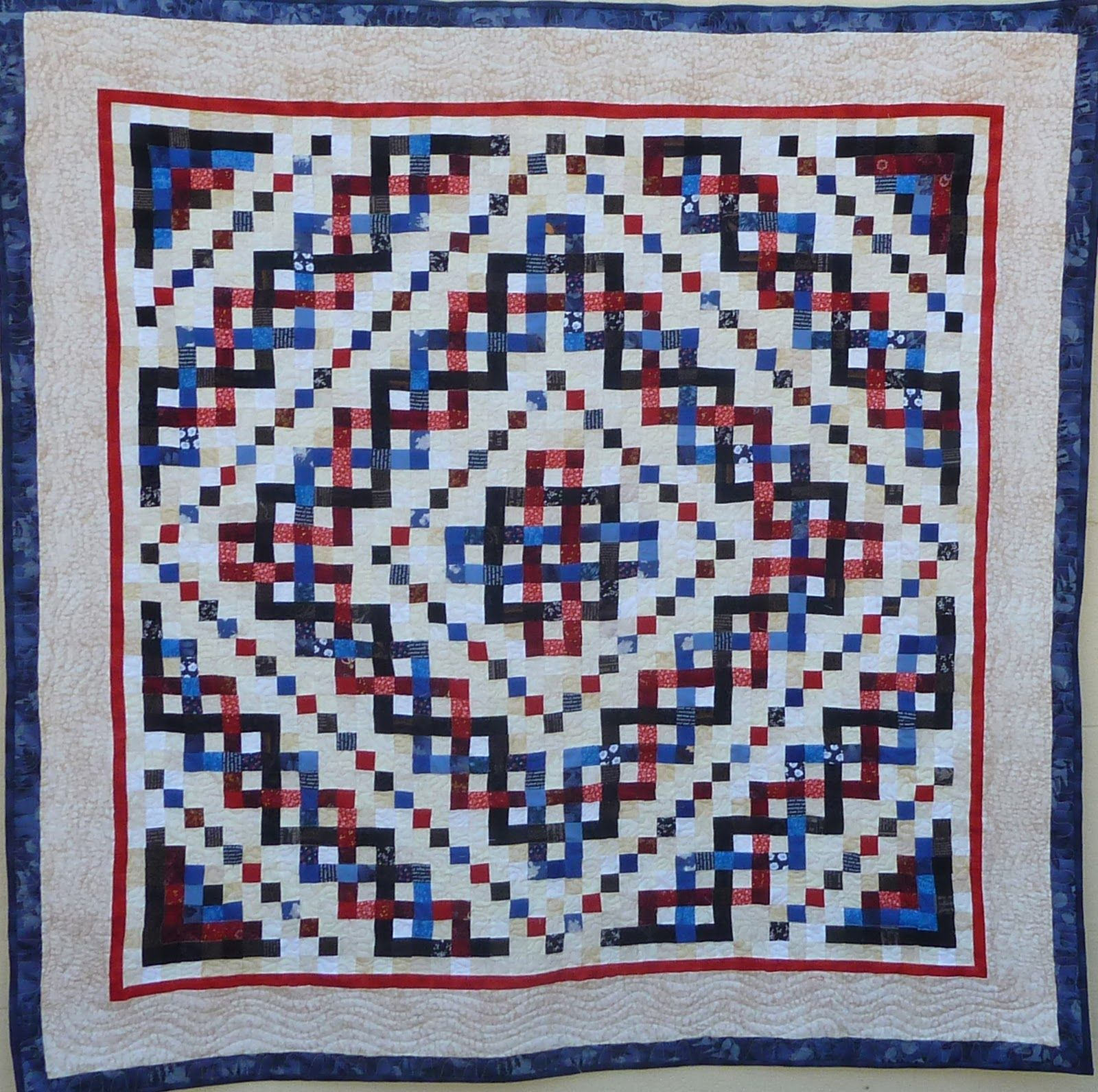 Trinity celtic knot pattern the new strip piecing method